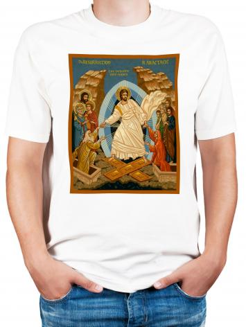 Adult T-shirt - Resurrection - Descent into Hades by J. Cole