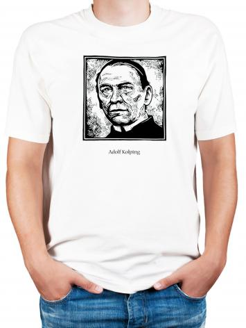Adult T-shirt - St. Adolf Kolping by J. Lonneman