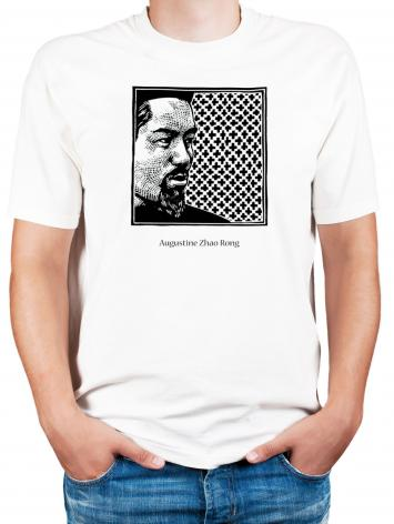 Adult T-shirt - St. Augustine Zhao Rong and 119 Companions by J. Lonneman