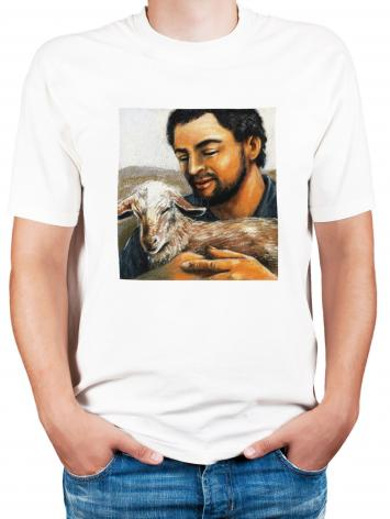 Adult T-shirt - St. Isidore the Farmer by J. Lonneman