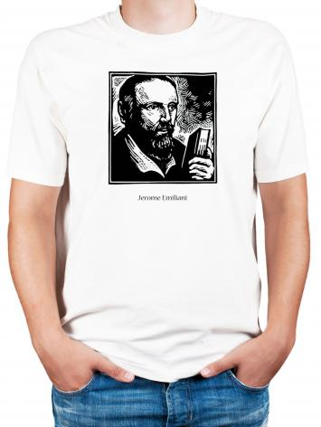 Adult T-shirt - St. Jerome Emiliani by J. Lonneman
