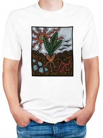 Adult T-shirt - Parable of the Seed by J. Lonneman