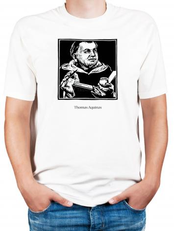 Adult T-shirt - St. Thomas Aquinas by J. Lonneman