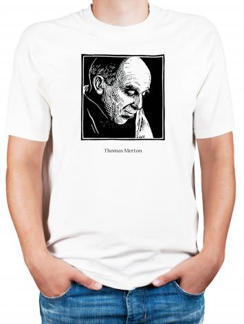 Adult T-shirt - Thomas Merton by J. Lonneman