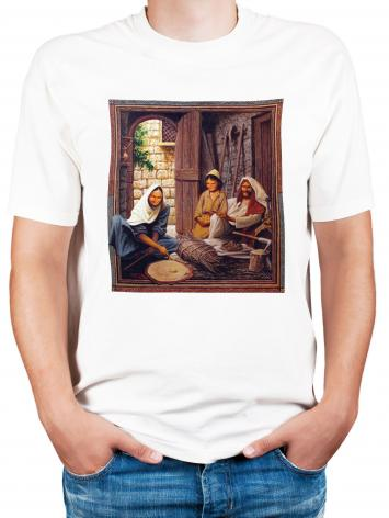 Adult T-shirt - Holy Family by L. Glanzman