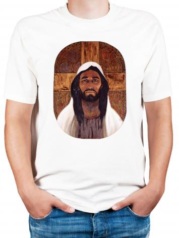 Adult T-shirt - Jesus by L. Glanzman