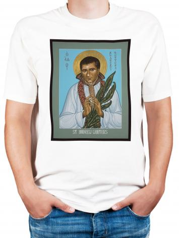 Adult T-shirt - St. Andrew Wouters by L. Williams