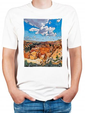 Adult T-shirt - Bryce Brewing Monsoons by L. Williams