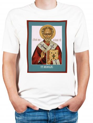 Adult T-shirt - St. Nicholas by L. Williams