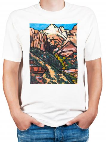 Adult T-shirt - Peace at East Temple by L. Williams