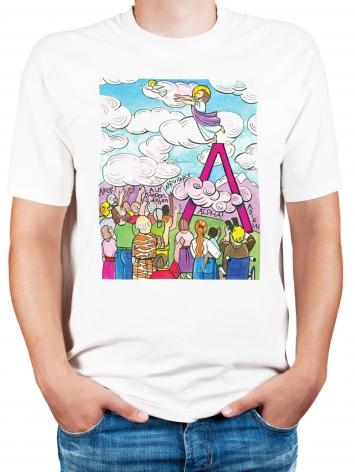 Adult T-shirt - All Apostles At Ascension by M. McGrath