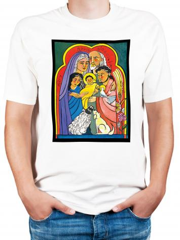 Adult T-shirt - Extended Holy Family by M. McGrath