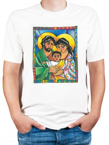 Adult T-shirt - Holy Family by M. McGrath