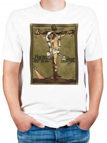 Adult T-shirt - Jesus, King of the Jews by M. McGrath