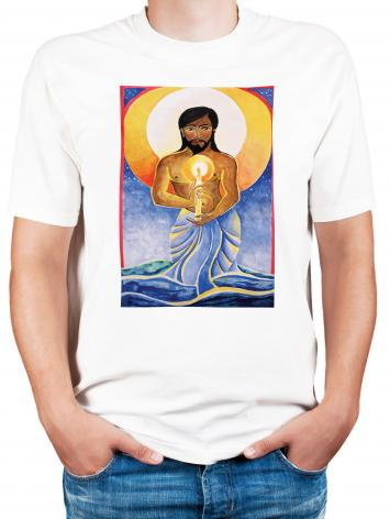 Adult T-shirt - Jesus: Light of the World by M. McGrath