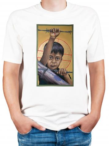 Adult T-shirt - Christ the Dreamer by M. Reyes