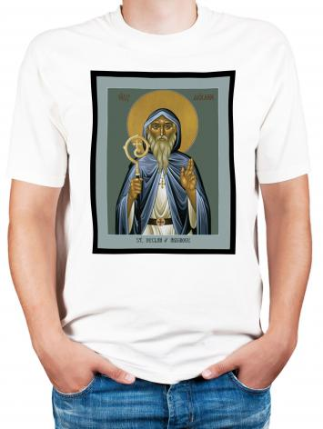 Adult T-shirt - St. Declan of Ardmore by R. Lentz