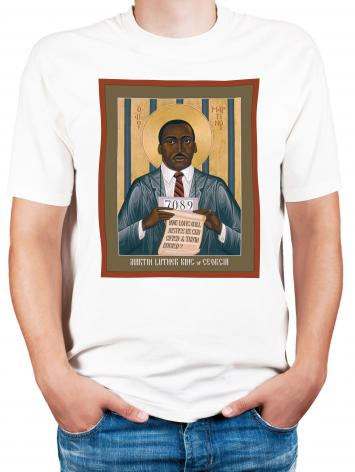 Adult T-shirt - Martin Luther King of Georgia by R. Lentz