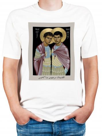 Adult T-shirt - Sts. Sergius and Bacchus by R. Lentz