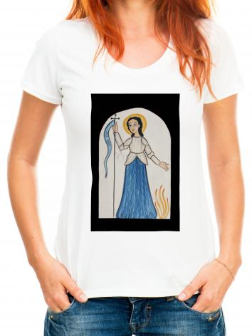 Adult T-shirt - St. Joan of Arc by A. Olivas