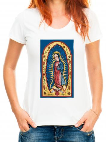Adult T-shirt - Our Lady of Guadalupe by A. Olivas