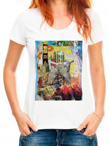 Adult T-shirt - Take Me to the Edge by B. Gilroy