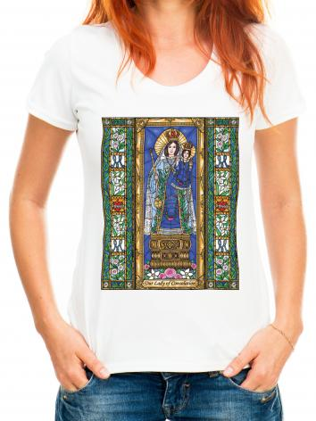Adult T-shirt - Our Lady of Consolation by B. Nippert