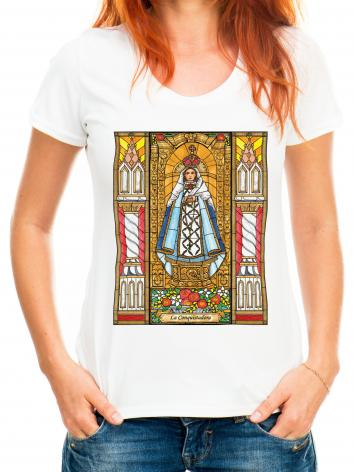 Adult T-shirt - La Conquistadora by B. Nippert