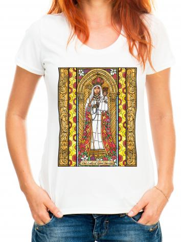 Adult T-shirt - Our Lady of Good Success by B. Nippert