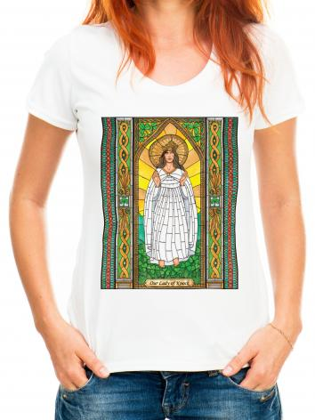 Adult T-shirt - Our Lady of Knock by B. Nippert