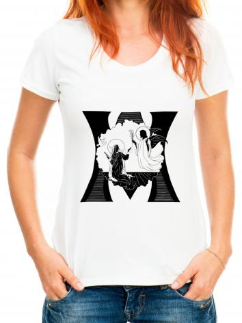 Adult T-shirt - Annunciation by D. Paulos