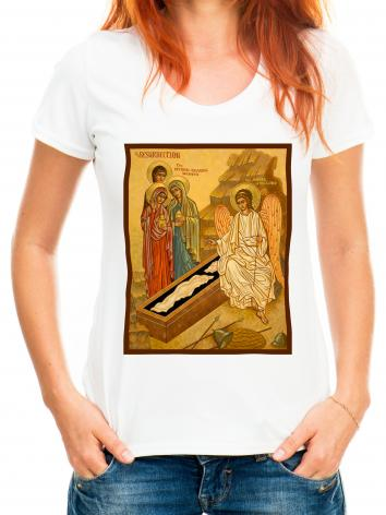 Adult T-shirt - Resurrection - Myrrh Bearing Women by J. Cole