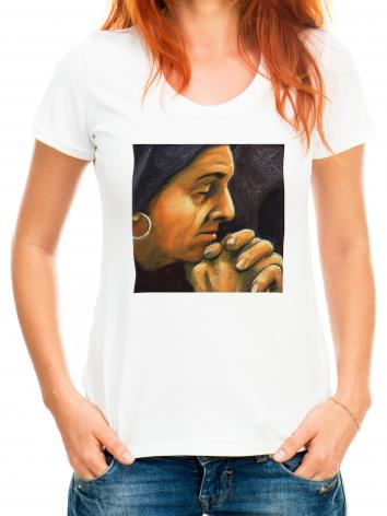 Adult T-shirt - St. Monica by J. Lonneman