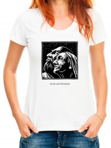 Adult T-shirt - Sarah and Abraham by J. Lonneman