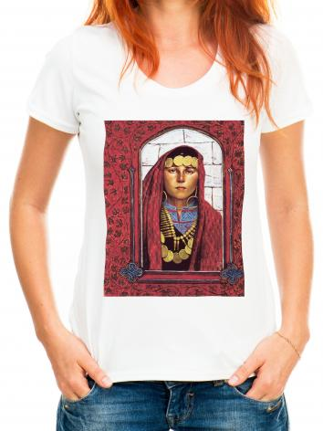 Adult T-shirt - St. Mary Magdalene by L. Glanzman