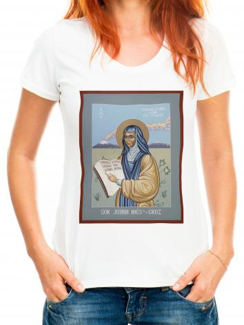 Adult T-shirt - Sor Juana Inés de la Cruz by L. Williams