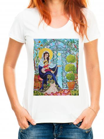 Adult T-shirt - Mary, Gate of Heaven by M. McGrath