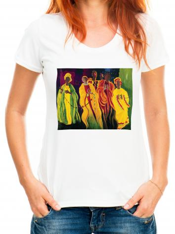 Adult T-shirt - Sr. Thea Bowman: I'll Be Singing Up There by M. McGrath