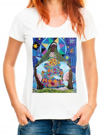 Adult T-shirt - Mary, Our Lady of Refuge by M. McGrath