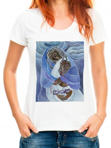 Adult T-shirt - Mary, Mother of Sorrows by M. McGrath
