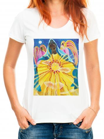 Adult T-shirt - Mary, Queen of the Universe by M. McGrath