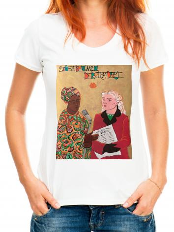 Adult T-shirt - Sr. Thea Bowman and Dorothy Day by M. McGrath
