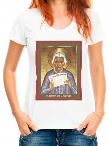 Adult T-shirt - Dorothy Day of New York by R. Lentz