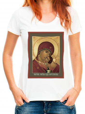 Adult T-shirt - Our Lady of Korsun by R. Lentz