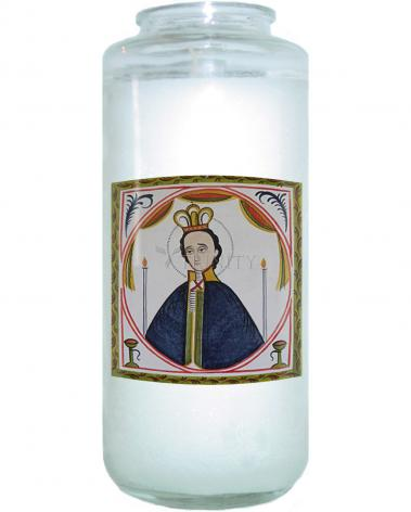 Devotional Candle - St. Fernando by A. Olivas