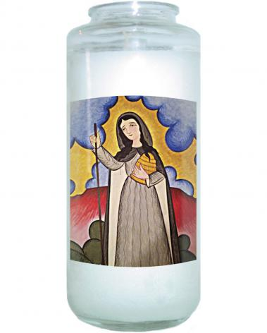 Devotional Candle - St. Gobnait by A. Olivas