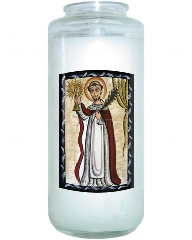 Devotional Candle - St. Raymond Nonnatus by A. Olivas