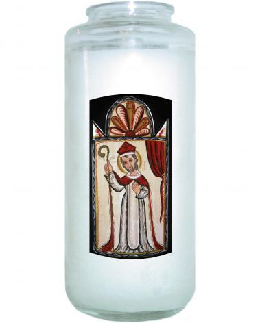 Devotional Candle - St. Nicholas by A. Olivas