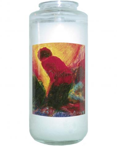 Devotional Candle - Annunciation by B. Gilroy