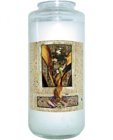 Devotional Candle - Birds of Paradise by B. Gilroy